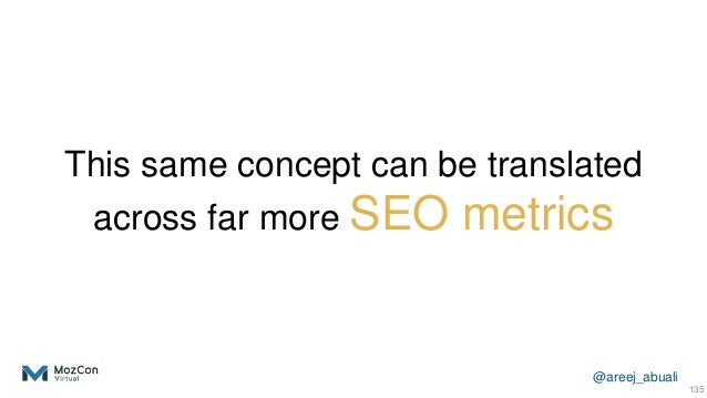 @areej_abuali This same concept can be translated across far more SEO metrics 135