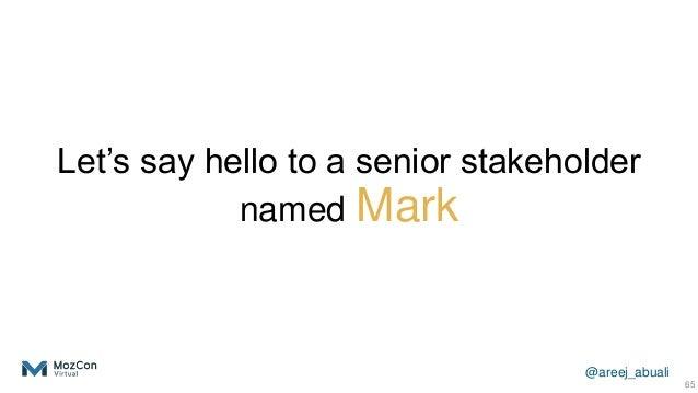 @areej_abuali Let's say hello to a senior stakeholder named Mark 65