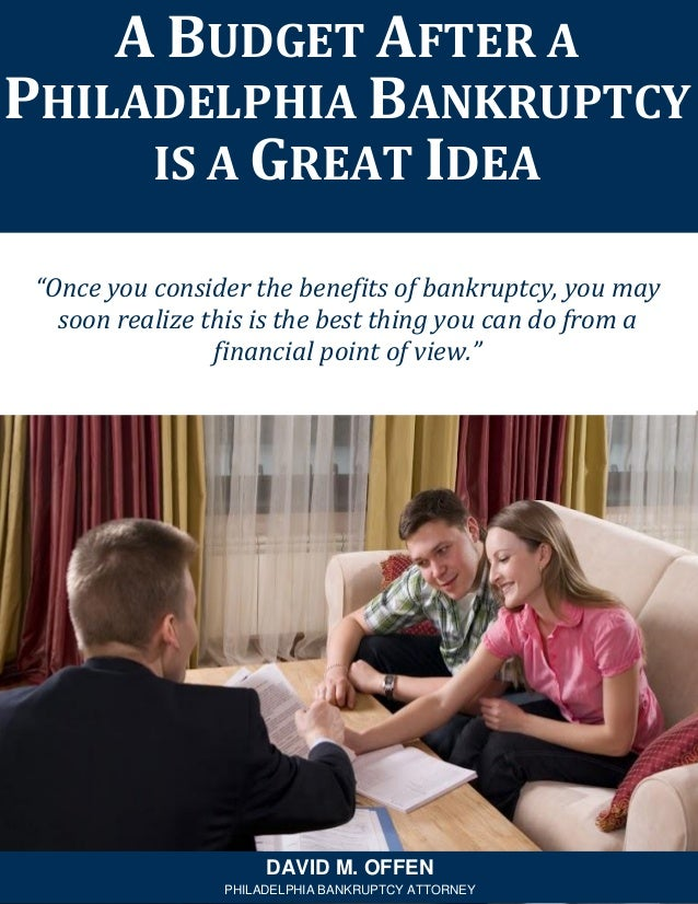 """""""Once you consider the benefits of bankruptcy, you may soon realize this is the best thing you can do from a financial poi..."""