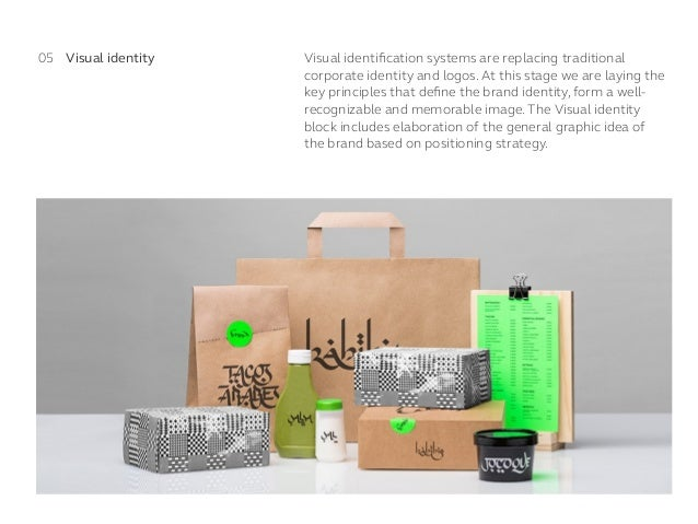 Visual identification systems are replacing traditional corporate identity and logos. At this stage we are laying the key p...