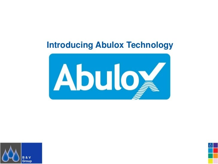 Introducing Abulox Technology