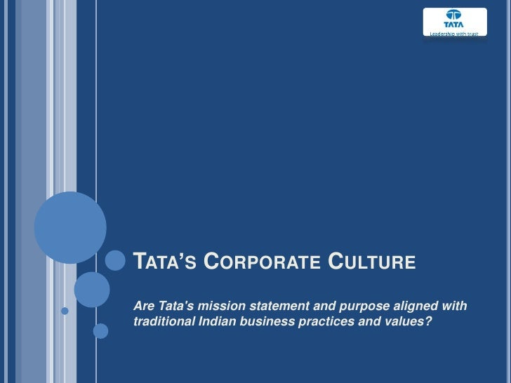 vission and mission statement of tata steel Disney's mission statement the mission of the walt disney company is to be one of the world's leading producers and providers of entertainment and information.