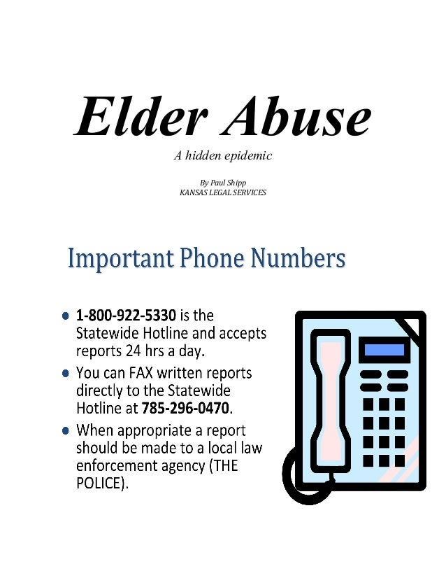 elder abuse essay