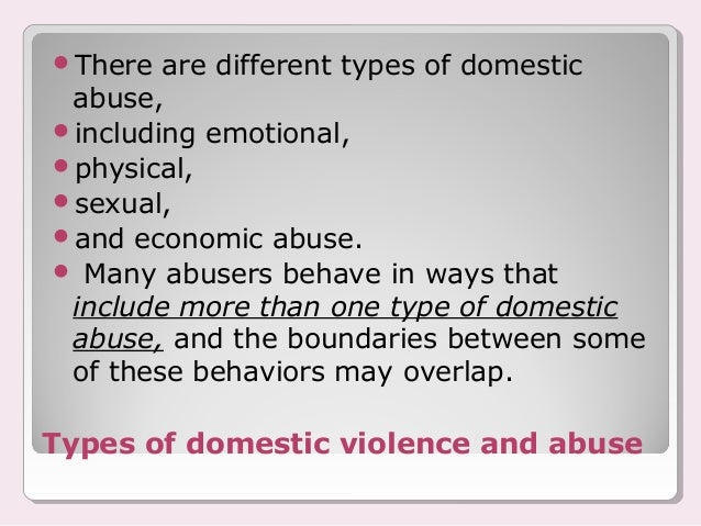 domestic violence or spouse abuse physically or emotionally harmful act between individuals in an in There are situations in which domestic abuse is so violent and  way of assuring  the physical and emotional safety of the victim(s)  this does not in any way  excuse the act itself, but it may help prevent further harm: the harm   relationships and enabled their abusers by hiding the abuse from outsiders.