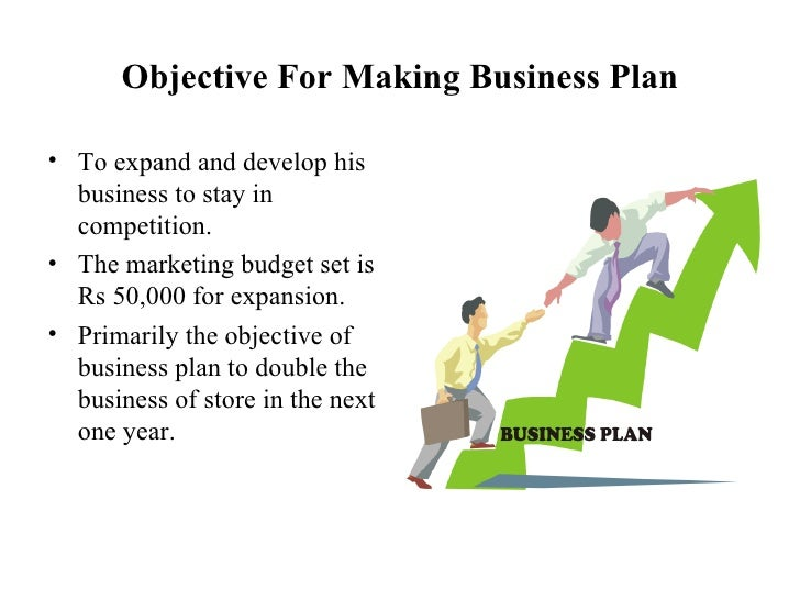 objective for business plan Establishing goals is only half the work in a business plan once the goals have been explained to the employees and a plan has been developed to achieve those goals, it is important to review.
