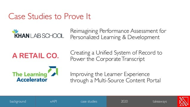 Case Studies to Prove It Reimagining Performance Assessment for Personalized Learning & Development Creating a Unified Sys...
