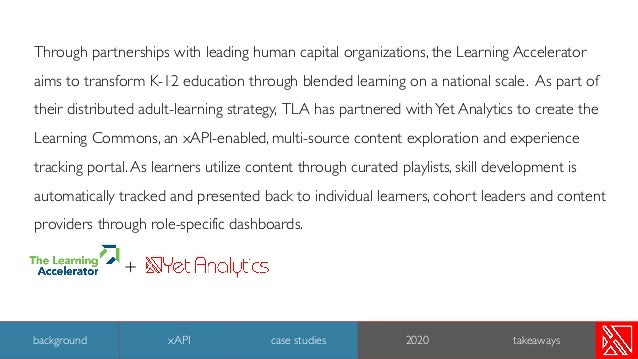 Through partnerships with leading human capital organizations, the Learning Accelerator aims to transform K-12 education t...
