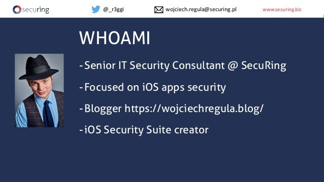 Abusing & Securing XPC in macOS apps Slide 2