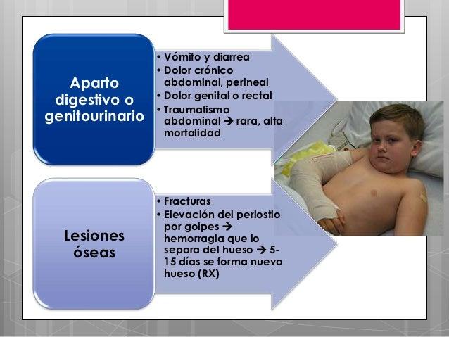 • Vómito y diarrea                 • Dolor crónico   Aparto          abdominal, perineal digestivo o     • Dolor genital o...