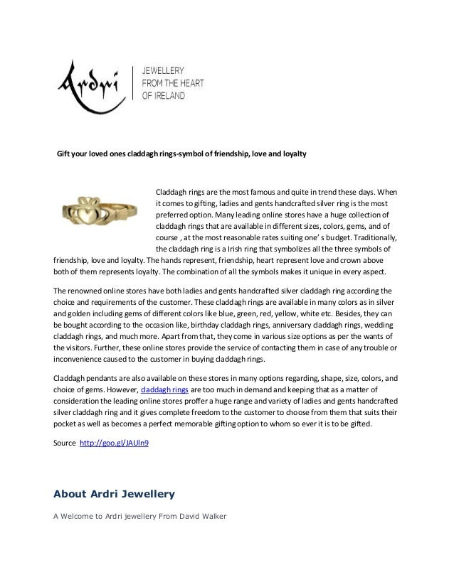 About Irish Claddagh Rings