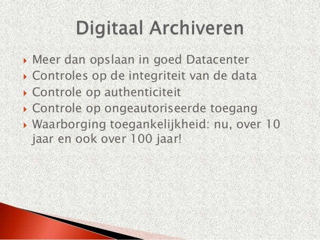 Kosten                       Besparingen   ICT infrastructuur      Opschonen en ordenen                             info...