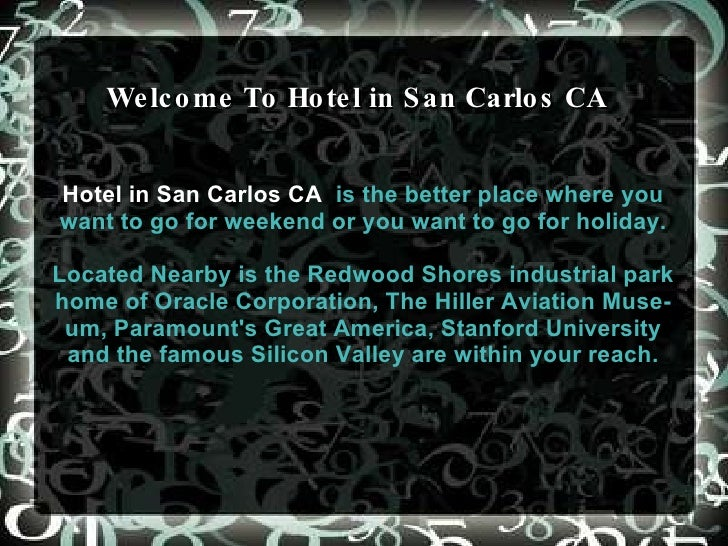 Best Lodging Value with Comfortable Stay at Americas Best Value Inn  San Carlos CA .   Whether you are coming for business...