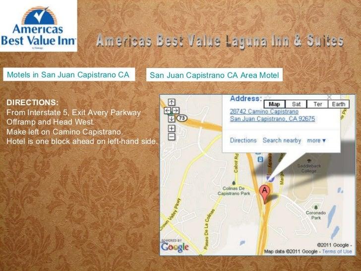 Motels In San Juan Capistrano Ca
