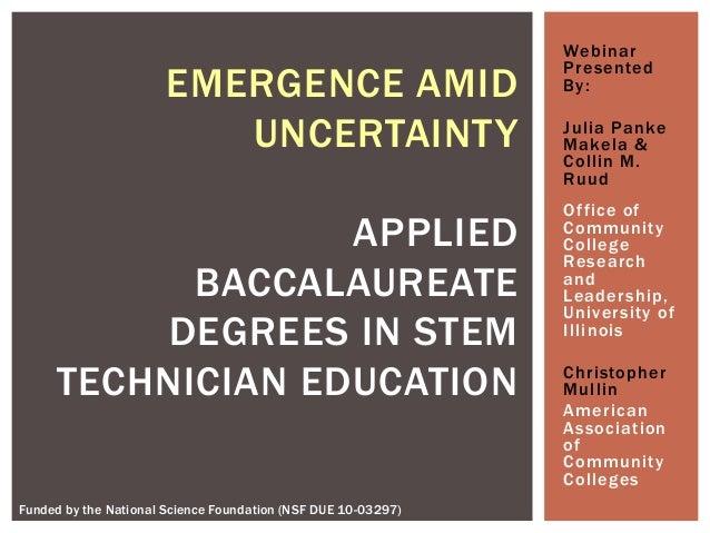 Webinar                                                               Presented                       EMERGENCE AMID      ...
