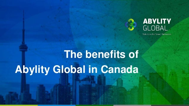 The benefits of Abylity Global in Canada