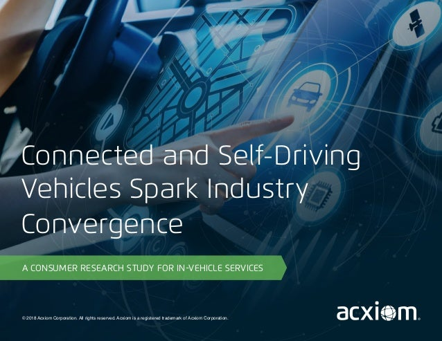 © 2018 Acxiom Corporation. All rights reserved. Acxiom is a registered trademark of Acxiom Corporation. A CONSUMER RESEARC...
