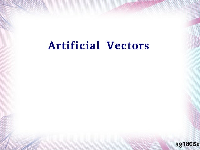 Artificial Vectors ag1805xag1805x
