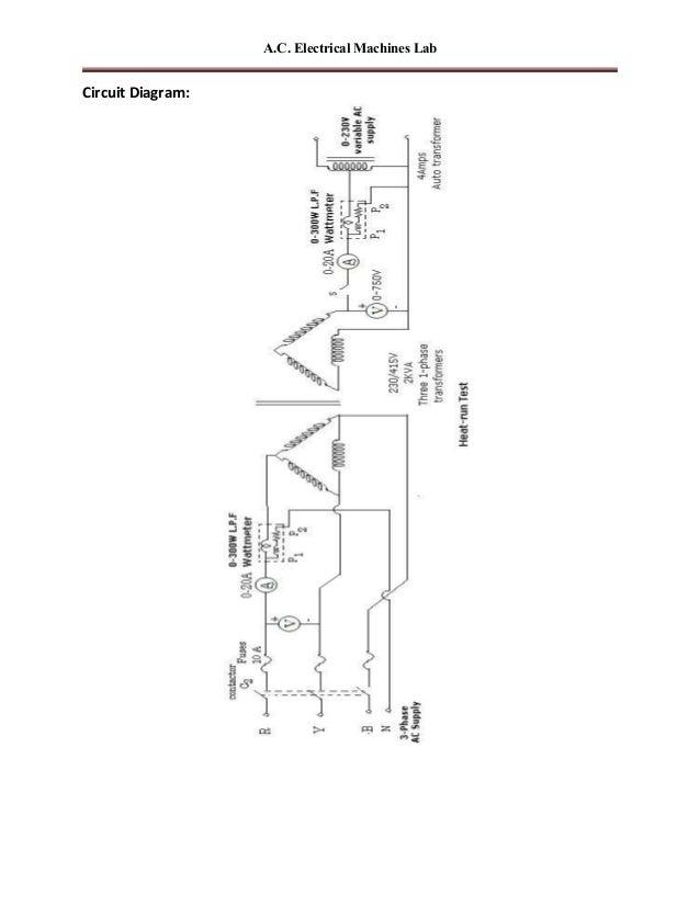 Ac machines-lab-manual