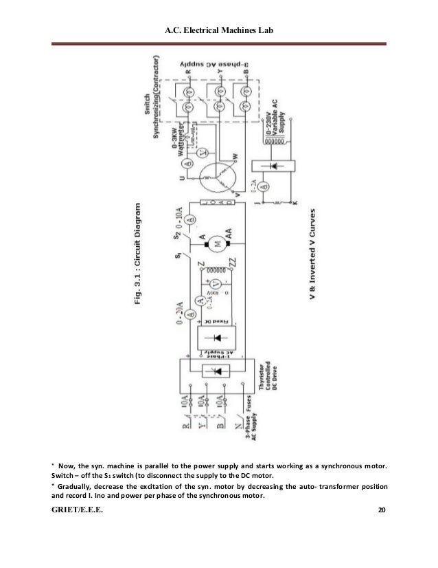 Ac machines-lab-manual on quad outlet wiring diagram, stator diagram, three-phase generator diagram,
