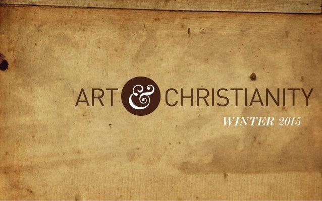 ART Christianity& winter 2015