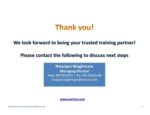 Vertois Corporate Training Portfolio Jun16
