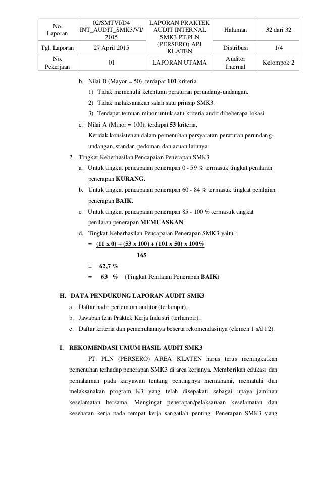 Audit 3 Penilaian