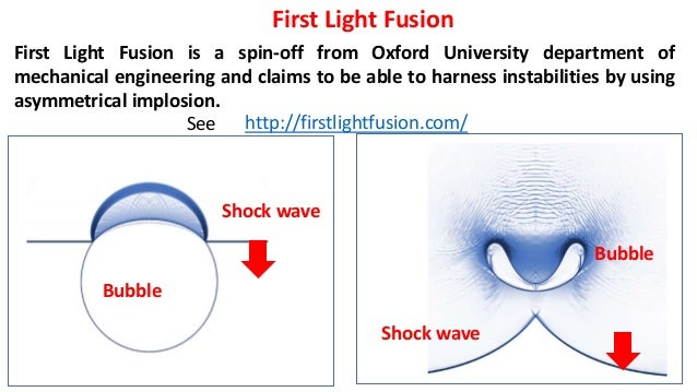 Image result for first light fusion