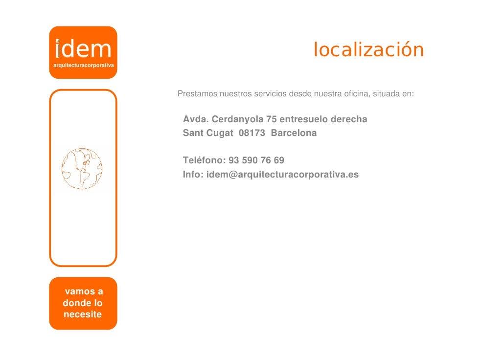 Book idem arquitectura corporativa for Booking barcelona oficinas