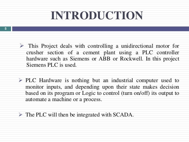 PLC BASED AUTOMATED SYSTEM IN PROCESS INDUSTRY (Final Presentation)