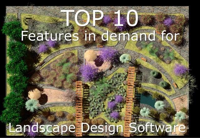 Top 10 Features Landscape Design Software