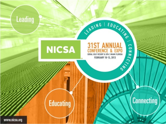 2013 NICSA Annual Conference Picture Recap