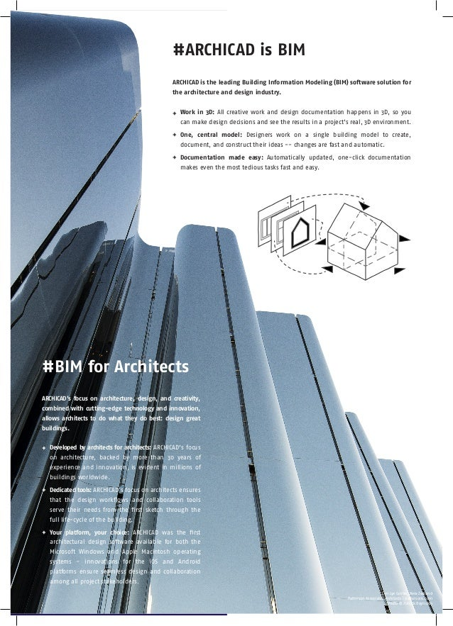 ARCHICAD 20 - BIM Product of the Year