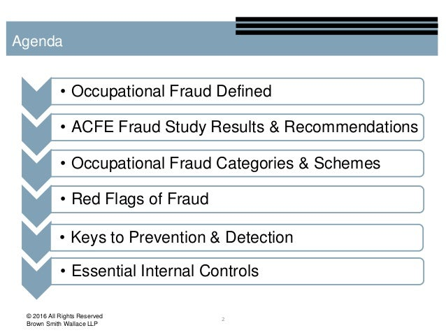 internal fraud case study Having seen many instances of occupational fraud in all shapes and sizes,  for  a properly designed and maintained set of internal controls.