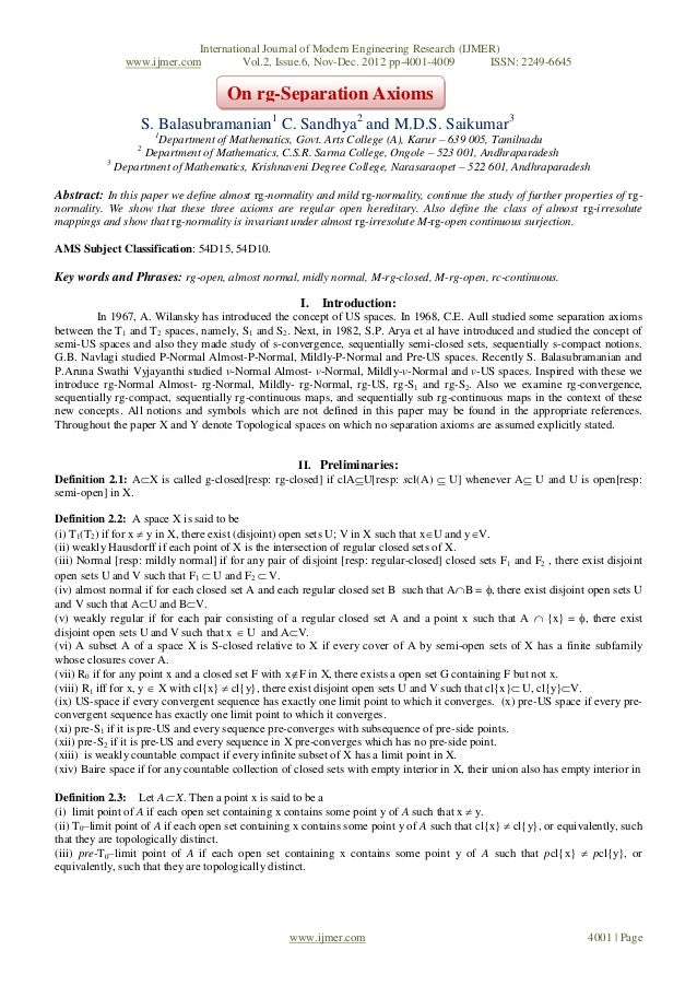 International Journal of Modern Engineering Research (IJMER)               www.ijmer.com          Vol.2, Issue.6, Nov-Dec....