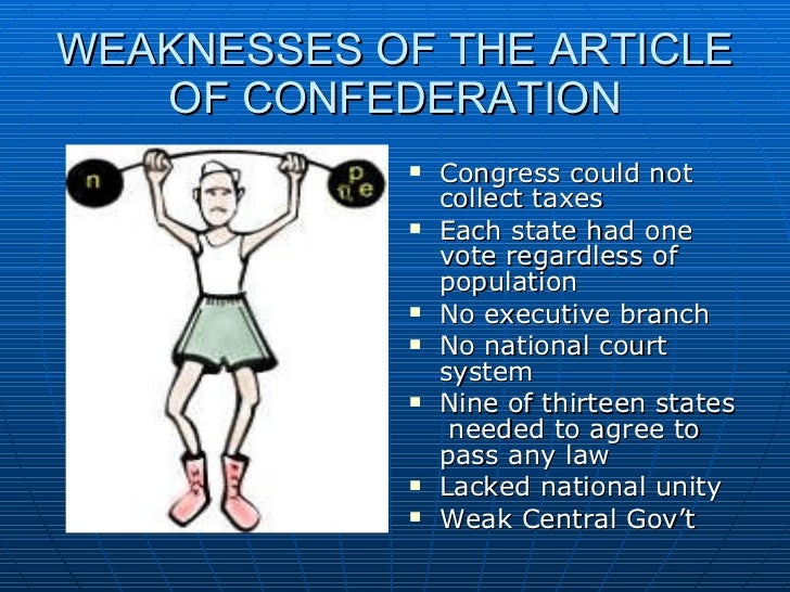 under any content about confederation our lawmakers was without a means to