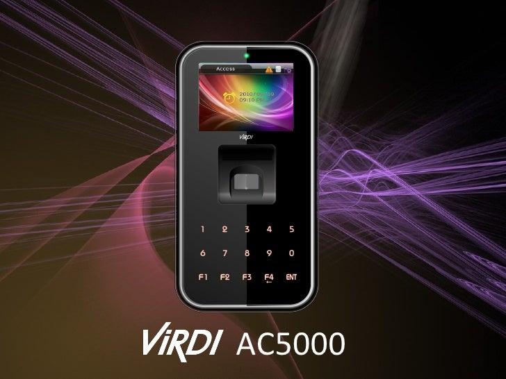 Elegent IP65 Fingerprint system (AC5000)
