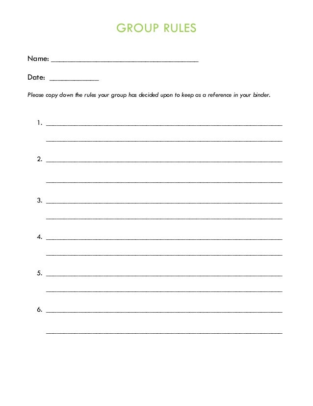 Anger Management Group Therapy Handouts and Worksheets – Anger Worksheet