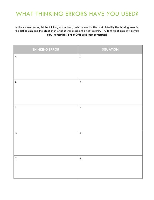 Anger Management Group Therapy Handouts and Worksheets – Substance Abuse Group Therapy Worksheets