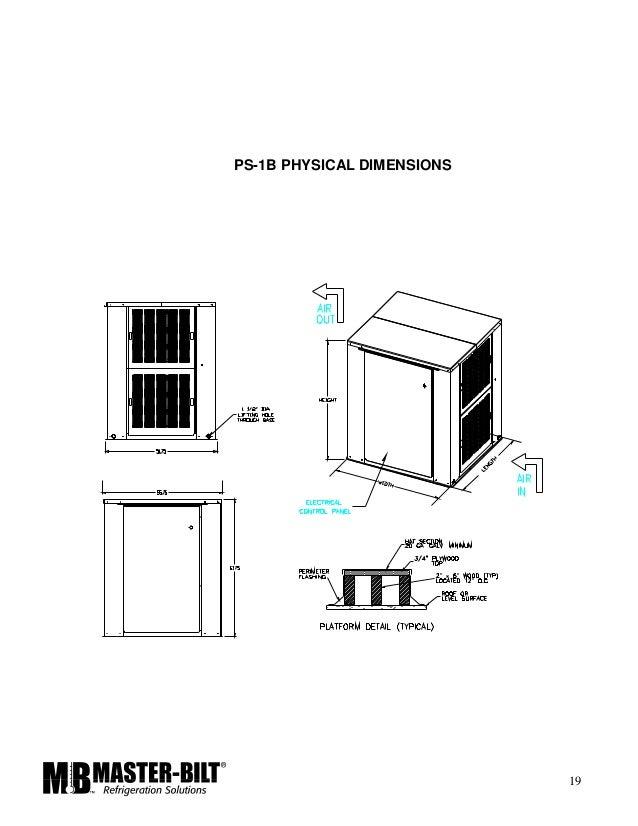 master bilt rack installation manual rh slideshare net Master Bilt Refrigeration Equipment Master Bilt Walk Ins