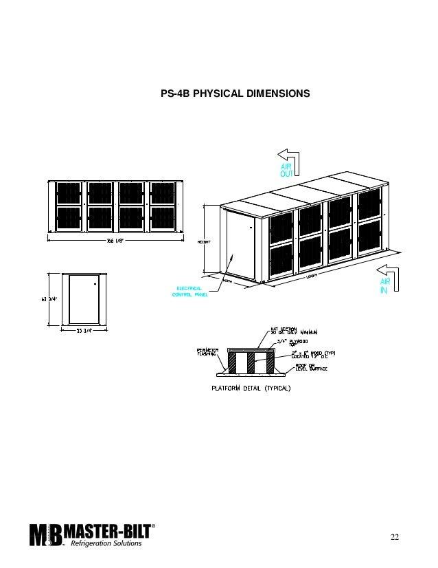master bilt rack installation manual rh slideshare net Master Bilt Coolers Master Bilt Blast Freezer
