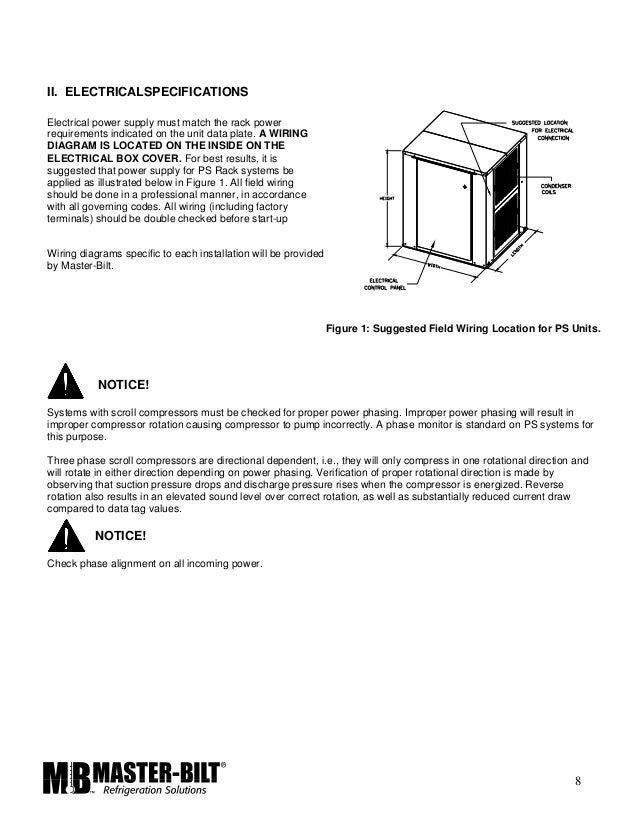 master bilt rack installation manual Master Bilt Freezers Delfield Refrigeration