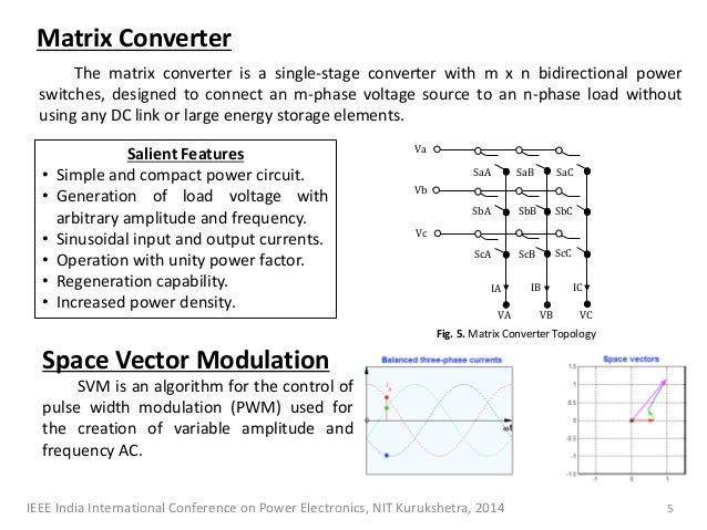 Direct Torque Control Of Matrix Converter Fed Bldc Motor