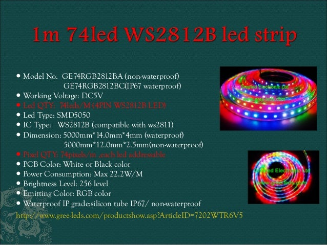 Ws2811 ws2812b digital rgb neopixel led light