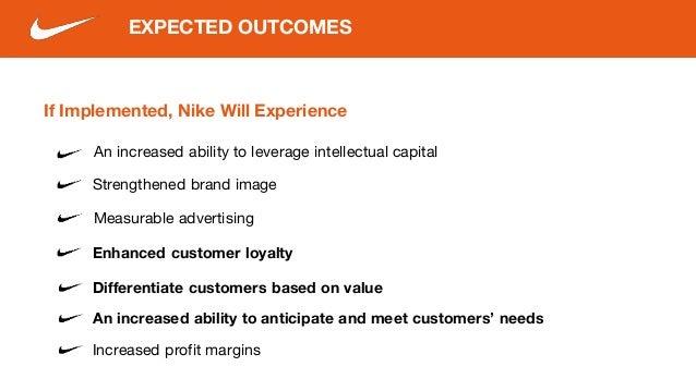 how does nike meet customer needs