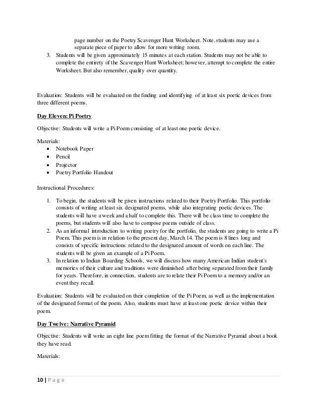 boarding school poetry unit plan. Black Bedroom Furniture Sets. Home Design Ideas