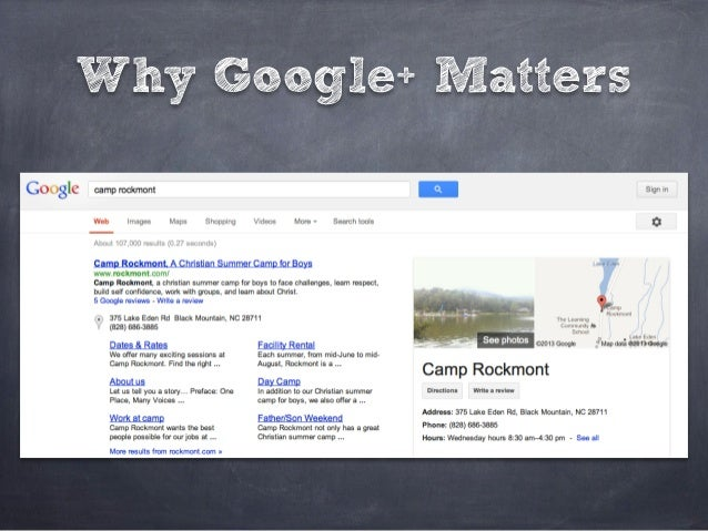 Why Google+ Matters