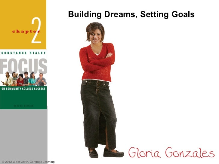 Building Dreams, Setting Goals© 2012 Wadsworth, Cengage Learning