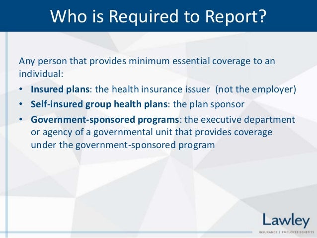 Affordable Care Act Aca Reporting Requirements Forms 6055 And 6056