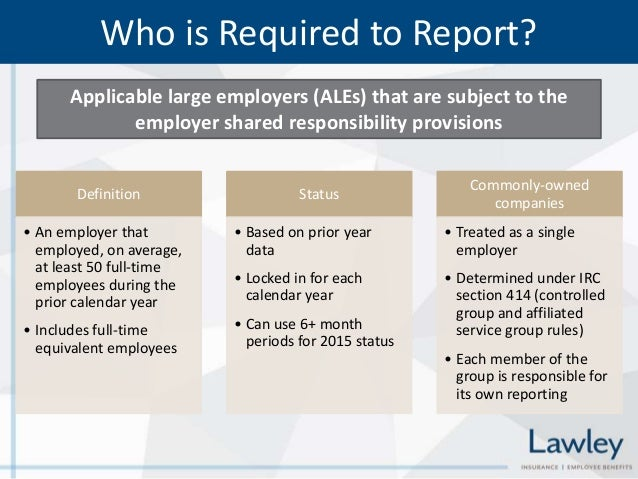 Calendar Year Legal Definition : Affordable care act aca reporting requirements forms