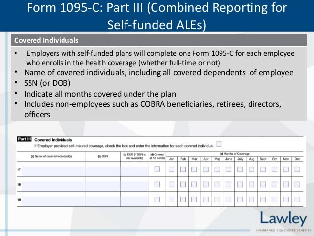 Affordable Care Act (ACA) Reporting Requirements Forms 6055 and 6056 …